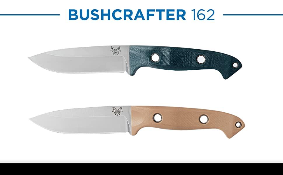 Benchmade Bushcrafter Fixed 162 Best Bushcraft Knife