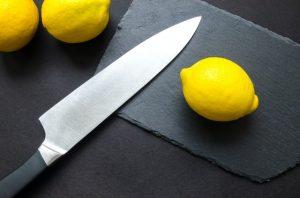 half bolster knife
