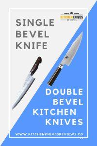 single bevel knife vs double bevel knife
